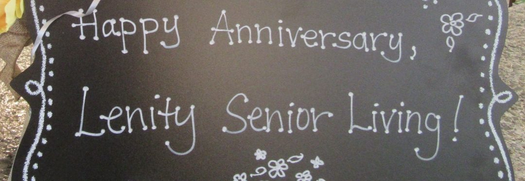 Happy First Anniversary Lenity