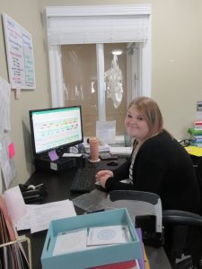 Nursing Administrative Assistant Working hard